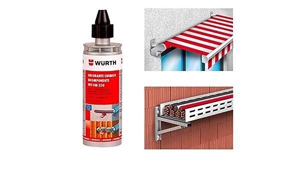 WURTH Anclaje químico WIT-VM 250 165 ml Art. 0903450203: Amazon.es: Bricolaje y herramientas