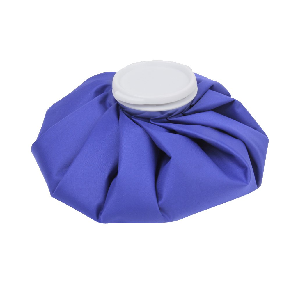 11 Inch Cloth Ice Cool Cooler Bag for Sports Injury Pain Relief Royal Blue Generic