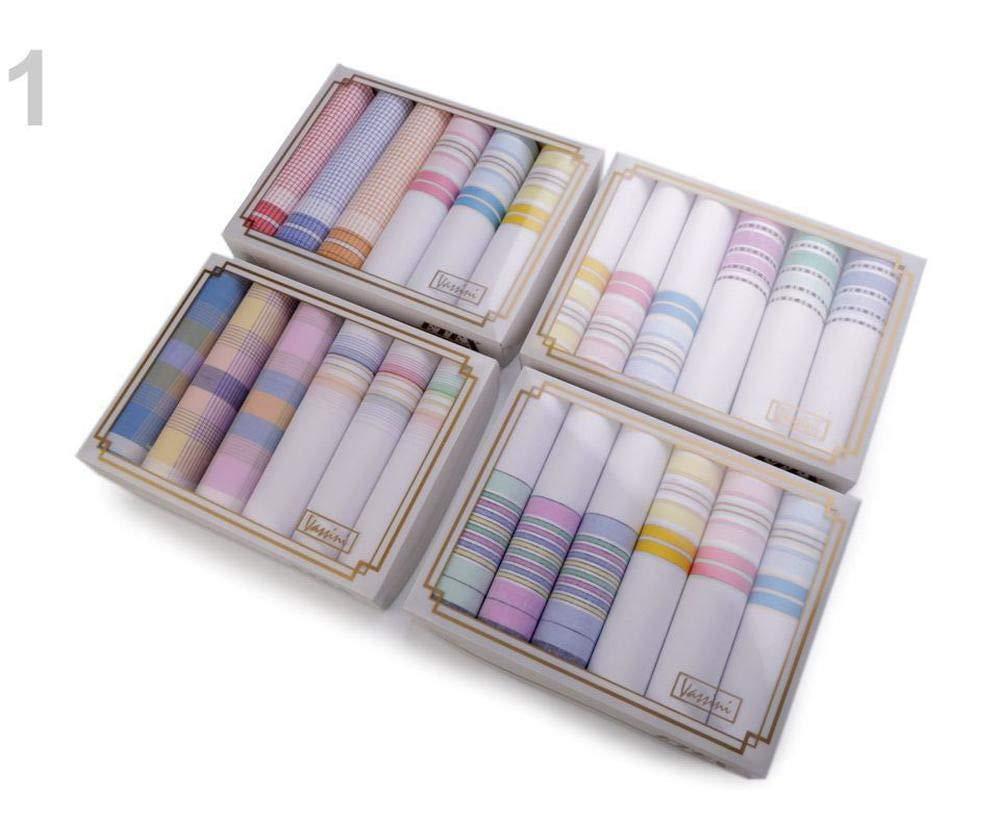 Accessoires de Mode 1box 1 Light Mix Dames Mouchoir//Bo/îte-Cadeau Enfants Femmes Ensemble Foulards