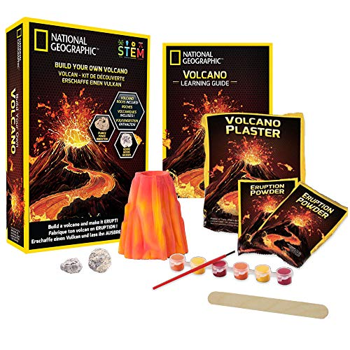 Volcanoes Experiment Kit - NATIONAL GEOGRAPHIC Volcano Science Kit