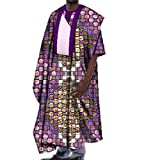 Comaba Mens Gowns Oversized Dashiki African Print Batik Tops T Shirts 14 4XL