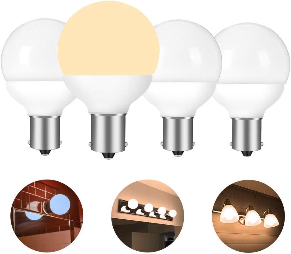 12 volt RV vanity led light bulbs BA15S 1383 1139 1156 ...