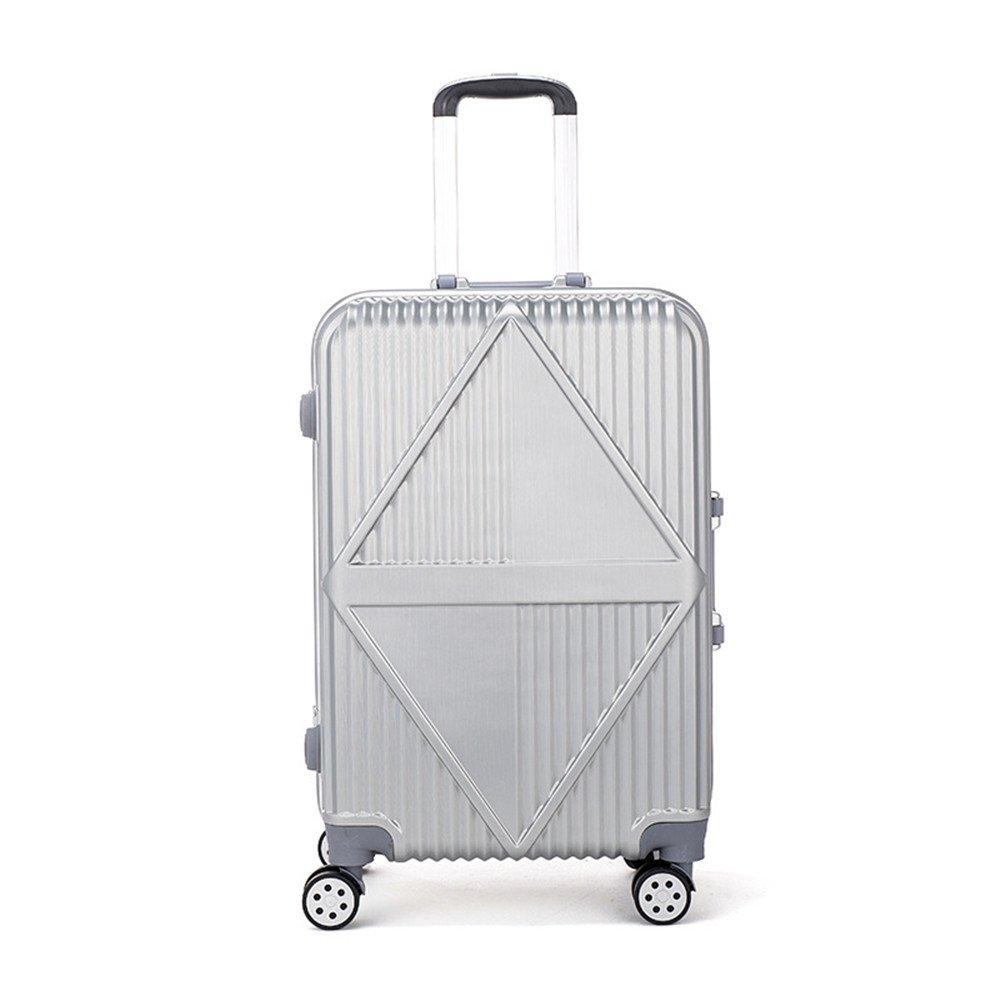 スーツケース 搭乗荷物、ギフトボックス、荷物ボックス、ユニバーサルホイール、プルロッドボックス20インチおよび24インチ、トラベルギア トロリースーツケース B07VKQTT3B