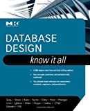 img - for Database Design: Know It All book / textbook / text book