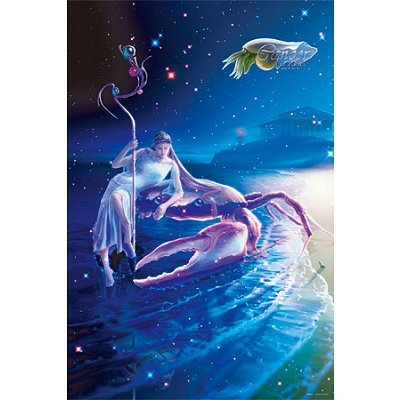 Starley tales the Zodiac by KAGAYA 1000 piece Cancer-Crab-[Shining puzzle] (50cm x75cm, correspondence panel No.10)