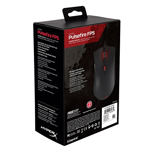 HyperX Pulsefire FPS Gaming Mouse (HX-MC001A/AM) Photo #7