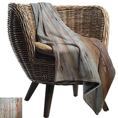 Rustic Camping Blanket,Monochrome Wood Design Minimalist Rough Rustic