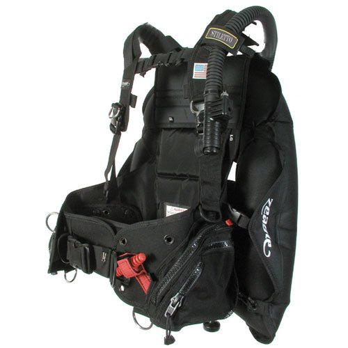 Zeagle Stiletto BCD with Ripcord Weight System, Black ()