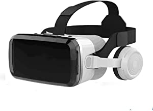 Virtual Reality Goggles for iPhone & Android Phones,3D Virtual Glasses,AR/VR Headset Perfect Work with Max Size Smartphones,Eye-Safe Adjustable HD Quality Lenses