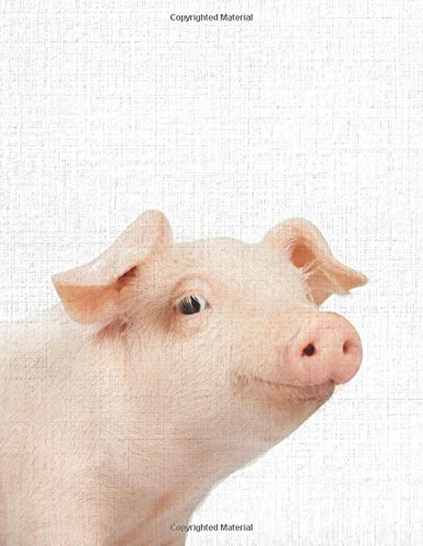 Cute Animal Composition Book Pig: 8.5 x 11'', 200 Wide Ruled Pages, Notebook for School Softcover Canvas Design: Large notebook journal for teacher, ... (Peekaboo animal notebook) (Volume 11) pdf