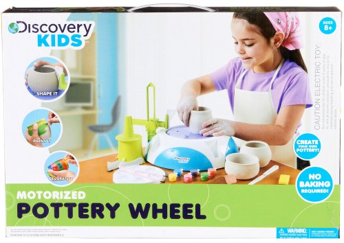 Discovery Kids Motorized Pottery Wheel Set