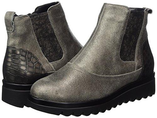 Chelsea Pancino Boots glitter Femme Gris Waldläufer Peltro Hodaya H5qPwP