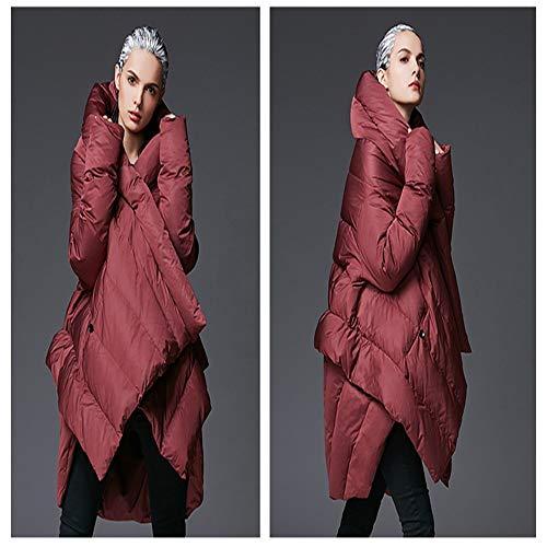 Mode Tempérament Parka Hiver Veste Femme Loose Chaude Nouveau Cape Down Xxl Manteau Fxchen Femmes Veste Manteau xdIqq0X