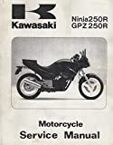 1981-1982 KAWASAKI MOTORCYCLE AR50 & AR80 SERVICE