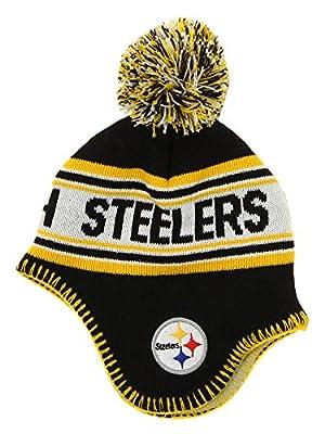 Outterstuff NFL Infants Jacquard Knit Pom Hat, Various Teams