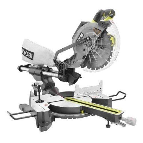 RYOBI TSS102L Sliding Miter Saw with Laser 15-Amp 10 in.