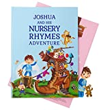 Personalized Nursery Rhymes and Poems Children's Book - A Beautiful 1st Birthday, Christening Gift