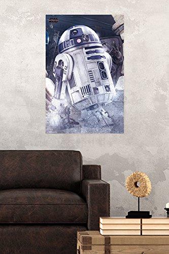 Trends International Star Wars: The Last Jedi-R2-D2 Wall Poster 22.375