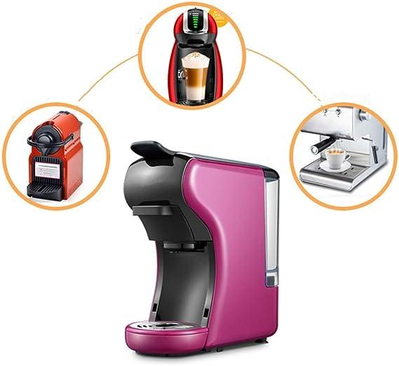 3-en-1 multi-función del café express de la máquina, de 19 bar de presión y 1450 W de potencia Cafetera Cafetera exprés cápsula de café de la máquina de alta presión de extracción,