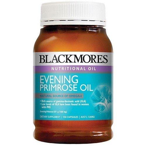 Blackmores Evening Primrose Oil 1000Mg Capx190 by Blackmores LTD