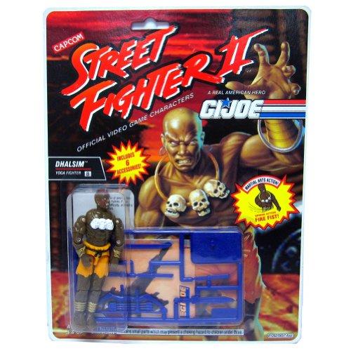 "G.I. Joe Street Fighter II Dhalsim Yoga Fighter 3 3/4"""
