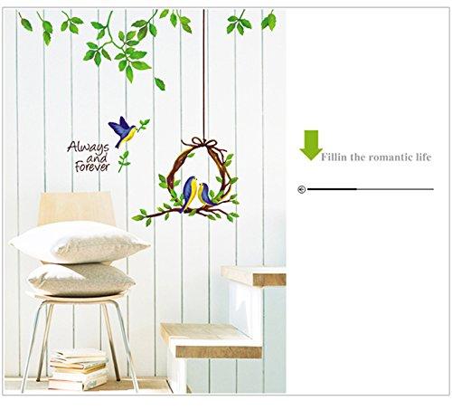 Molessi Decals 'Tree Branch Flower' Home Wall Stickers Room Decor (PVC Vinyl, 50cm x 70cm)