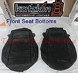 Katzkin Leather Black Seat Covers kit Compatible