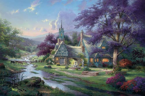 - Diamond Painting Thomas Kinkade 12X16 inches 5D DIY Diamond Painting Full Round Drill Rhinestone Embroidery for Wall Decoration