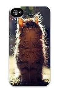 iPhone 4 4S Case Bubble Cat 3D Custom iPhone 4 4S Case Cover