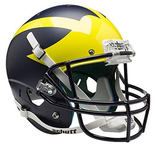 - Schutt NCAA Michigan Wolverines Replica XP Football Helmet, Alt. 1