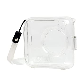 WOSOSYEYO Bolsa Shell Luminoso Transparente Impresora Teléfono de ...