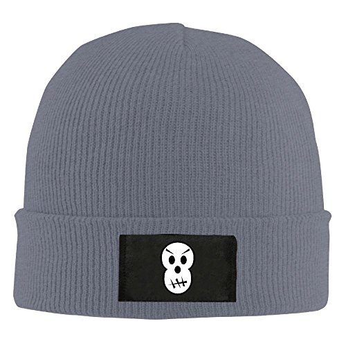 WLF Unisex Angry Skull Halloween Fashion Warmth Four Colors Beanie Hats Skull (Activities In Miami For Halloween)