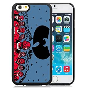 Durable and Newest Iphone 6 Case Design with Wu-tang Clan Black Iphone 6th 4.7 Inch TPU Case
