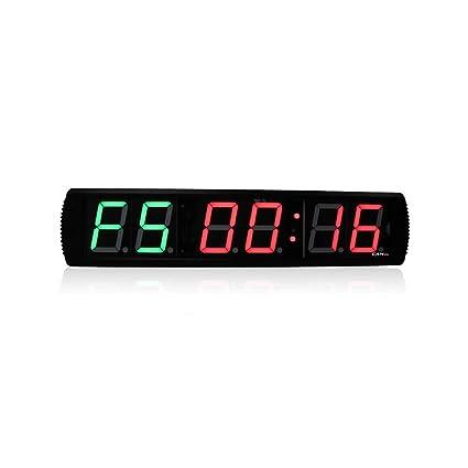 LED temporizador de intervalos de gimnasio CrossFit – wg061803 LED reloj Digital DEPORTE interior temporizador de