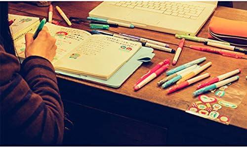 Yipianyun Notizbuch Transparent Wasserdicht Notebook Schutzhülle Planer Tagebuch Zubehör Schule Bürobedarf Schreibwaren