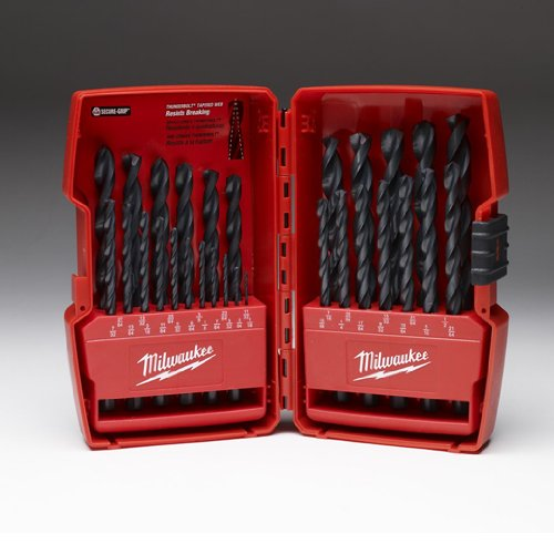 Milwaukee Electric Tool 48-89-2802 Thunderbolt Drill Bit Set, 29 Pieces, 1/16-1/2'' by Milwaukee