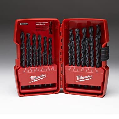 Milwaukee Electric Tool 48-89-2802 Thunderbolt Drill Bit Set, 29 Pieces, 1/16-1/2