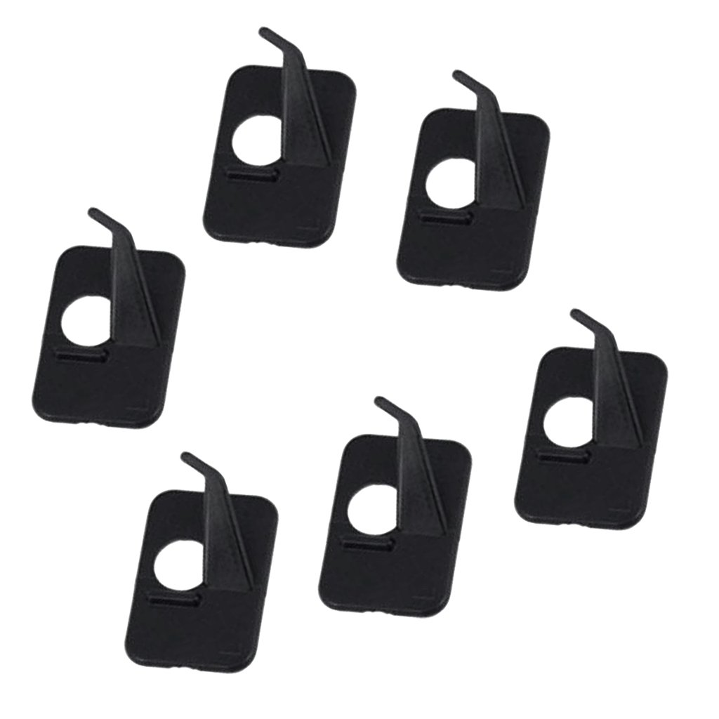 Homyl 6 Pieces Self-Adhesive Archery Arrow Rest For Recurve Bow Right Hand or Left Hand Choose You Need