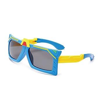 Y-WEIFENG Las Gafas de Sol Plegables Cool Boys Lentes ...