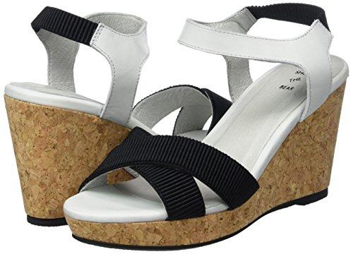 Bear L Sandals Blue colored Multi Alec Women''s Heels The Wedge 170 Shoe qw5fyU11