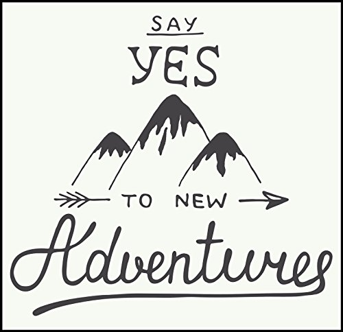 say-yes-to-new-adventures-calligraphy-hiker-icon-vinyl-decal-sticker-4-wide