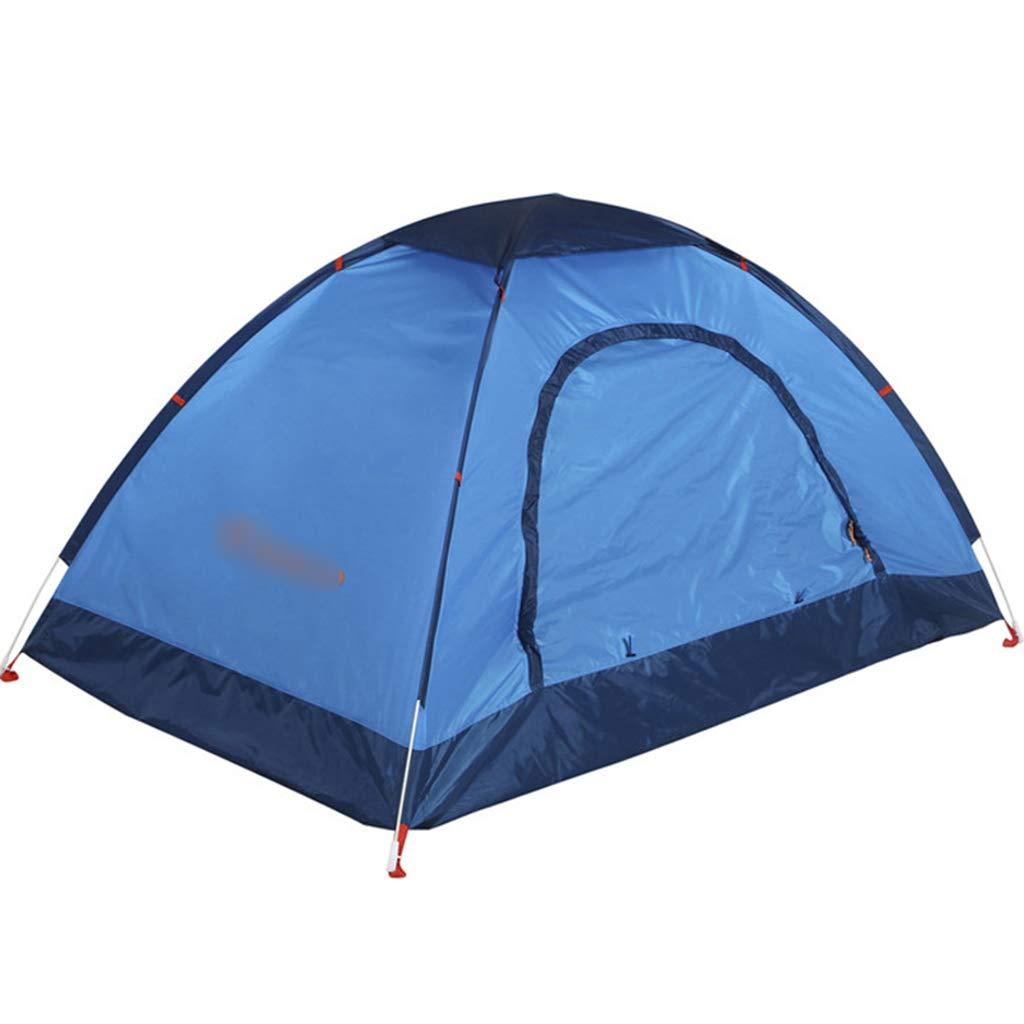 YaNanHome Imprägniern Zelt des Zeltes des Zeltes des Zeltes im Freien Zeltzelt des Zeltpaares mit 1-2 Leuten (Farbe : Dark Blau, Größe : 210  140  110cm)