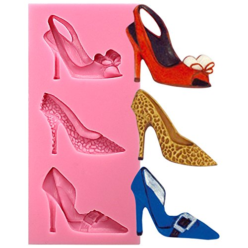 Funshowcase Chic Stiletto High Heel Shoes Silicone Candy