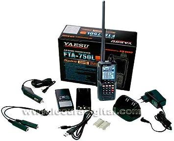 YAESU FTA-750L Transceptor Banda Aerea 108-136, 200 Canales. GPS, VOR,ILS