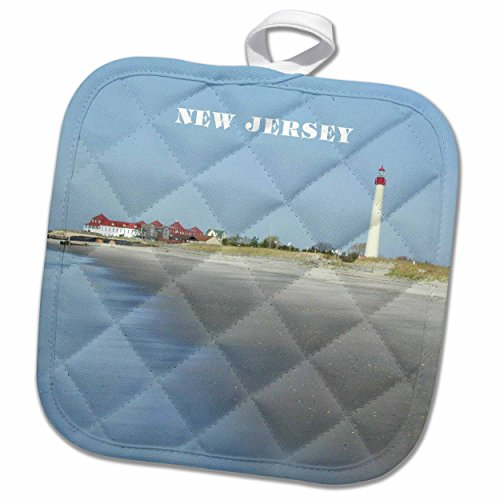 3D Rose Cape May New Jersey with Lighthouse N Beach Pot H...