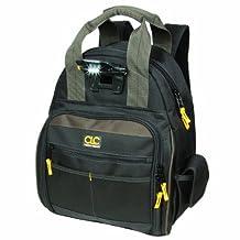 Custom Leathercraft L255 Tech Gear 53 Pocket Lighted Back Pack