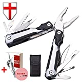 Pocket Army Grand Way 2240 Multitool - Kitchen Application Multi Tool EDC - Mini Tool w/Pliers Screwdriver - Multifunctional Swiss Knife