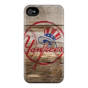 Durable Protector Case Cover With New York Yankees Hot Design For Iphone 6 plus