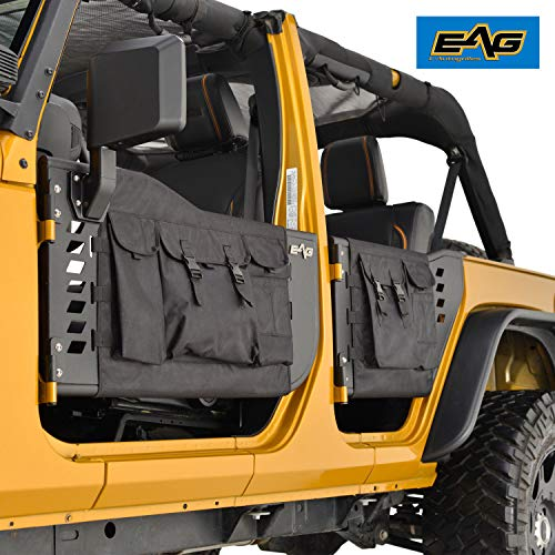 EAG 07-18 Jeep Wrangler JK (4 Door Only) Pocket Tubular Tube Doors with ()
