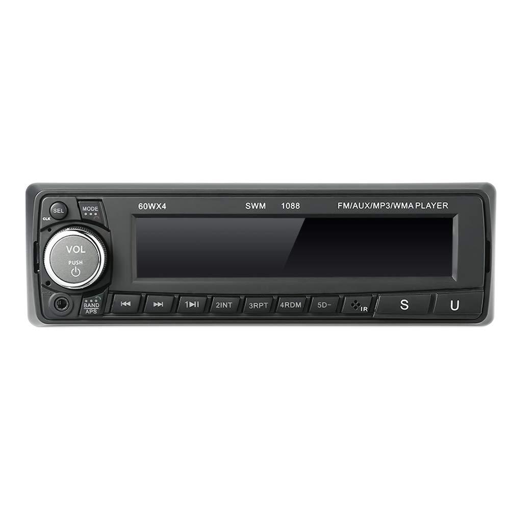 Darshion Car Audio Player, 12V LCD Auto MP3 Player U Disk Card Radio Hands-Free Call SU-1088